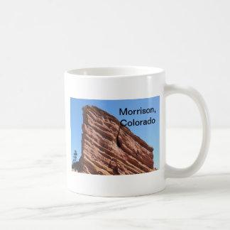 red rocks in Morrison, Colorado Coffee Mug