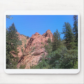 Red Rocks Mouse Pad