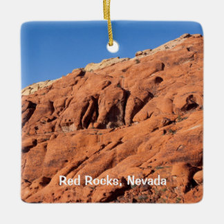 Red Rocks, Nevada Ceramic Ornament