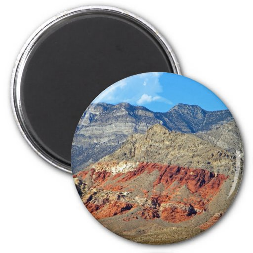 Red Rocks Nevada Magnets