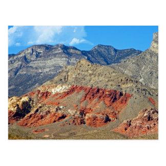 Red Rocks Nevada Postcard