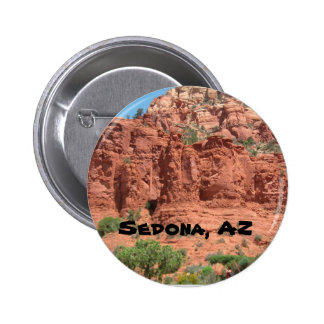 Red Rocks of Sedona 2 Inch Round Button
