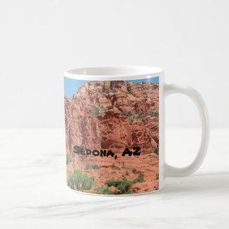 Red Rocks of Sedona Classic White Coffee Mug