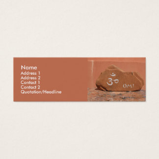 Red Rocks OM Mini Business Card