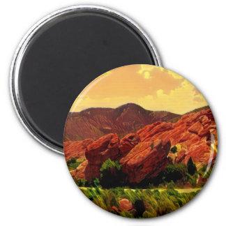 Red Rocks Park Denver Colorado Magnet