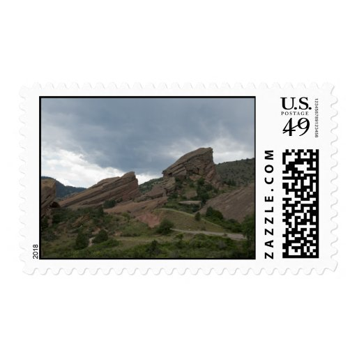 Red Rocks Park Stamps