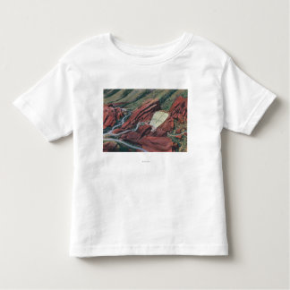 Red Rocks Theatre, Park of the Red Rocks Toddler T-shirt