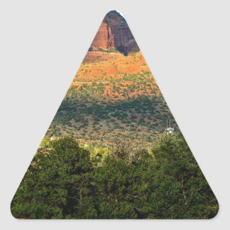 red rocks triangle sticker