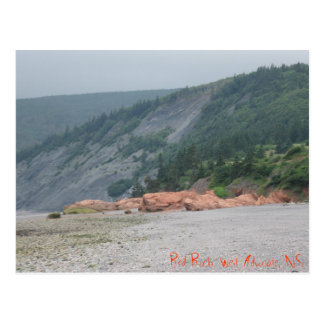 Red Rocks. West Advocate, NS Postcard