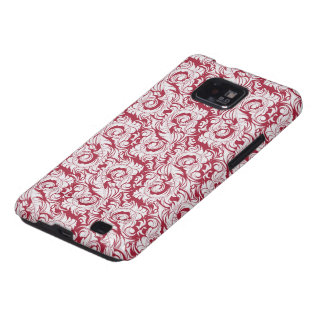 Red Rococo Case-Mate Case Samsung Galaxy S2 Cases