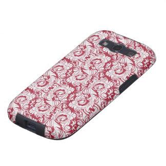 Red Rococo Case-Mate Case Samsung Galaxy SIII Case