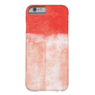 Red rolled paint iphone 6 case