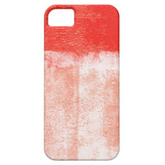 Red rolled paint iPhone SE/5/5s case