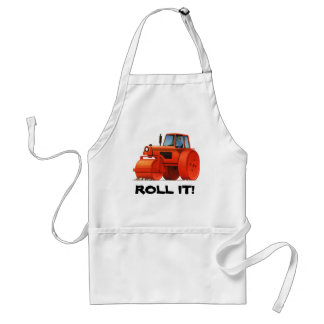 Red Roller Adult Apron
