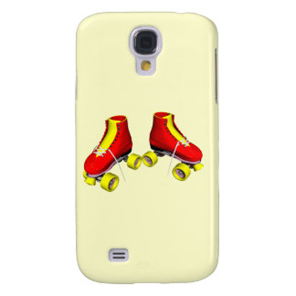 Red Roller Skates Samsung Galaxy S4 Cover
