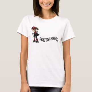 Red Rollerderby jammer T-Shirt