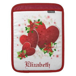 Red Romance Hearts Sleeve