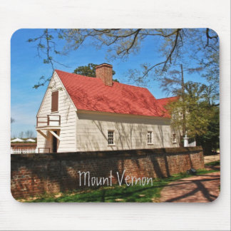 Red Roof Mouse Pad