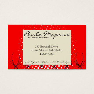 red room business card