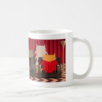 Red Room Cats Coffee Mug