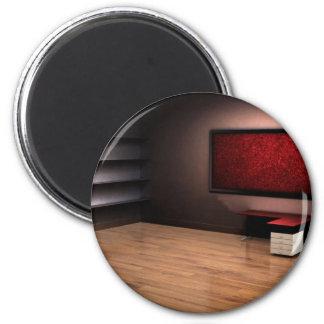 Red Room Design 2 Inch Round Magnet