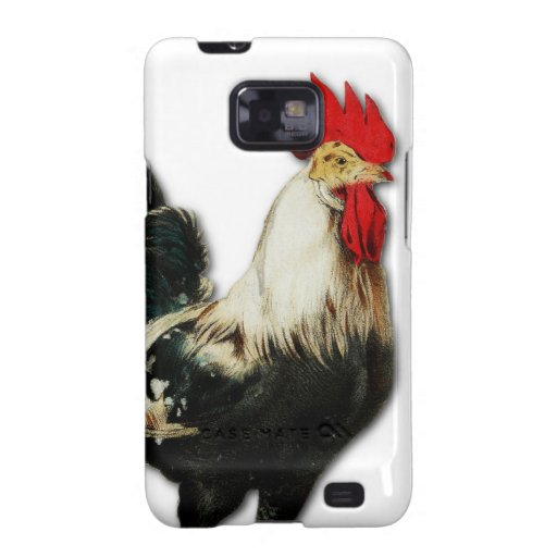 Red Rooster Chicken Customize Samsung Galaxy S2 Cover