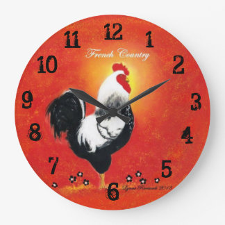 Red Rooster Clock
