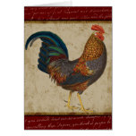 Red Rooster Greeting Cards