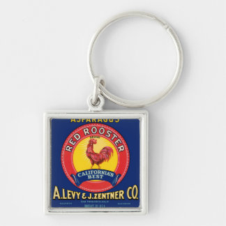 Red Rooster Keychain