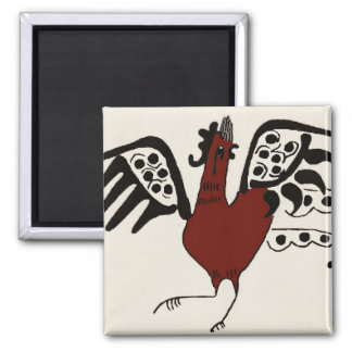 Red Rooster Magnet