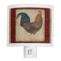Red Rooster Night Light