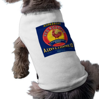 Red Rooster Pet Tee Shirt