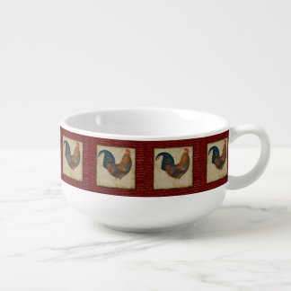 Red Rooster Soup Mug