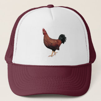 Red Rooster Trucker Hat