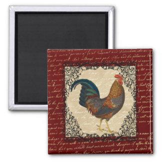 Red Rooster Vintage Refrigerator Magnets