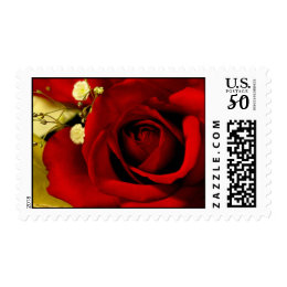 Red Ros Postage