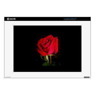 "Red Rose 15"" Laptop Skin"