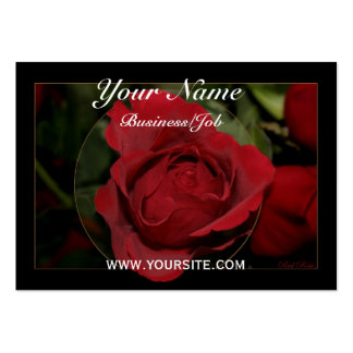 Red Rose #1 Business Cards