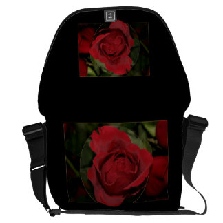 Red Rose #1 Courier Bag