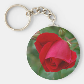 Red Rose 1 Keychain