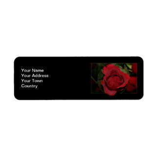 Red Rose #1 Label