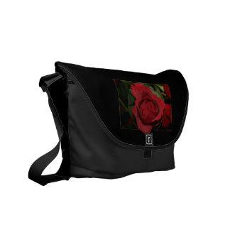 Red Rose #1 Messenger Bag