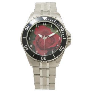 Red Rose #1 Wristwatch