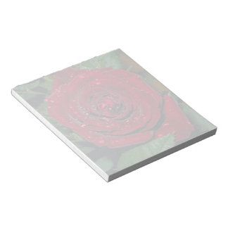 Red Rose #2 Notepad