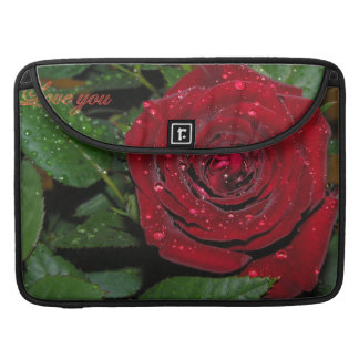 Red Rose #2 Sleeve For MacBook Pro