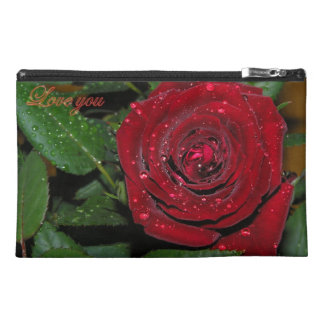 Red Rose #2 Travel Accessory Bag