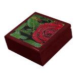 Red Rose #2 Trinket Boxes