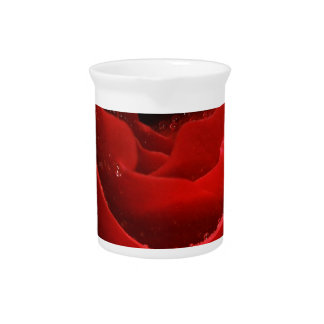 Red Rose Beverage Pitchers