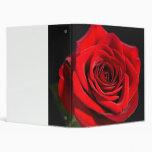 Red Rose Binder