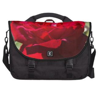 Red Rose Blossom Commuter Bag